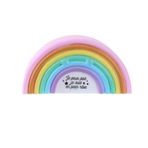 Veilleuse Arc-en-ciel Multicolore