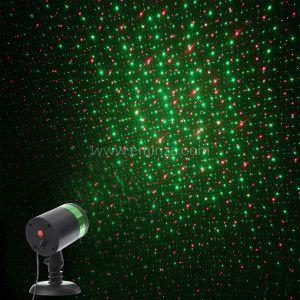 Projecteur laser à détecteur Rouge / Vert 2 LED