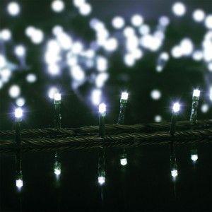 Guirlande lumineuse 10 m Blanc froid 100 LED CV