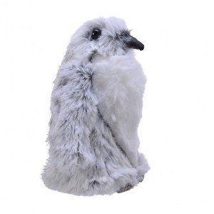 Pingouin de Noël Alban Gris