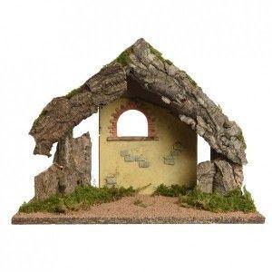 Crèche de Noël vide Sainte-Amandine