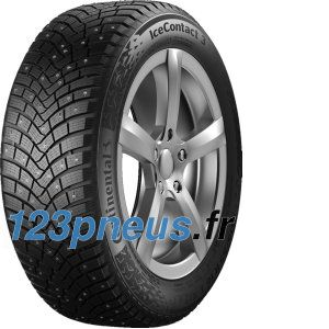 Continental IceContact 3 ( 195/55 R16 91T XL , Clouté )