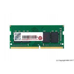 Mémoire TRANSCEND SoDIMM DDR4 2400MHz PC4-19200 1Rx8 - 8Go