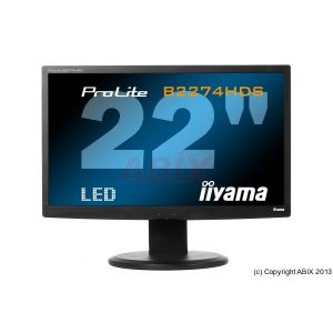 Ecran led 21.516:9 iiyama hp 2MS dvi hdmi pivot