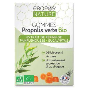 Propos'Nature Gomme de Propolis Bio Pépins de Pamplemousse/Eucalyptus 45g