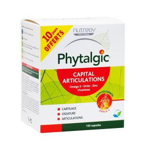 Phytalgic Capital Articulations 135 capsules dont 30 capsules Offertes