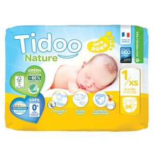 Tidoo Couches Night & Day T1 Newborn (2-5kg) 26 couches