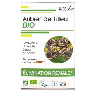 Nutrivie Aubier de Tilleul Bio 20 ampoules