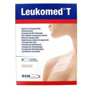 BSN Médical Leukomed T Pansement Non Tissé Adhésif 14 x 11cm 5 Unités