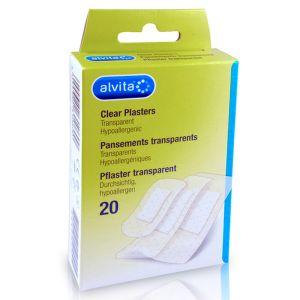 Alvita Pansements Transparents 20 unités