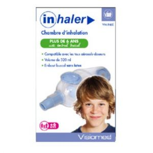 Visiomed Inhaler Chambre d'Inhalation Enfants + 6 ans