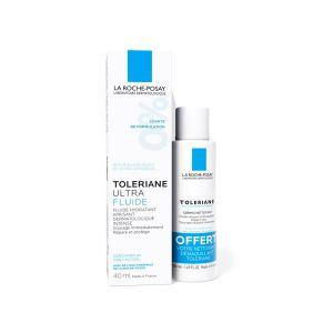 La Roche Posay Tolériane Ultra Fluide Apaisant 40ml + Dermo-Nettoyant 50ml Offert