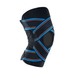 Thuasne Sport Genouillère Strapping Ouverte Taille S Noir