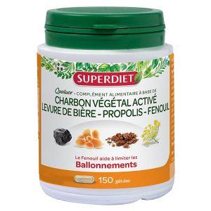 Super Diet Quatuor Ballonnements 150 gélules