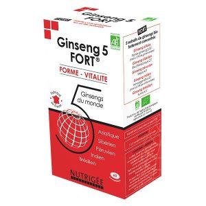Nutrigée Ginseng 5 Fort 60 comprimés