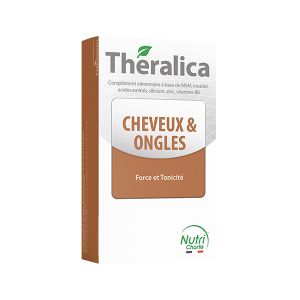 Theragreen Theralica Cheveux et Ongles 60 gélules