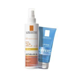 La Roche Posay Anthelios Spray avec Parfum SPF50+ 200ml + Lipikar Gel Lavant 100ml Offert