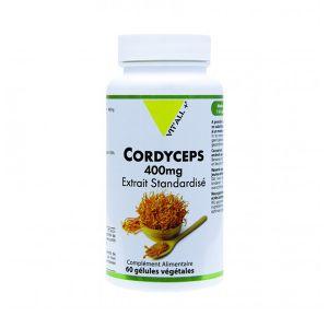 Vit'all+ Cordyceps Bio 400mg 60 gélules végétales