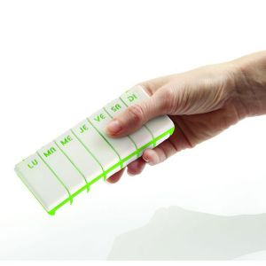 Pilbox Tempo Pillulier Vert