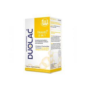 Duolac Travel 2 in 1 30 comprimés
