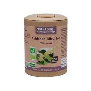 Nat & Form Eco Responsable Aubier de Tilleul Bio 200 gélules