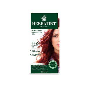 Herbatint Couleur Flash Fashion Rouge Pourpre FF2 150ml