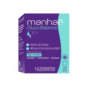 Nutrisanté Manhaé Gluco Balance 20 sachets