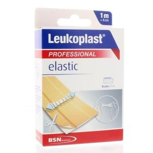 BSN Médical Leukoplast Elastic Pansement Adhésif 6cm x 1m