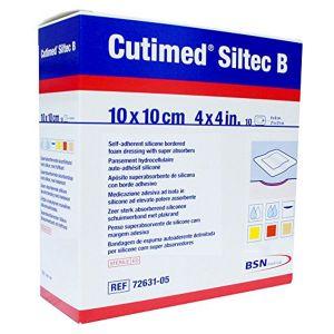 BSN Médical Cutimed Siltec B Pansement 10x10cm 10 Unités