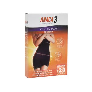 Anaca3 Shorty Ventre Plat L-XL