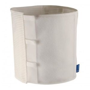 Thuasne Dynabelt Ceinture Thoraco Abdominale Hauteur 16cm Taille 3 Blanc