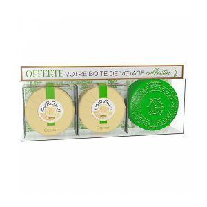 Roger & Gallet Cédrat Coffret Savons 2 unités + Boite Collector Offerte