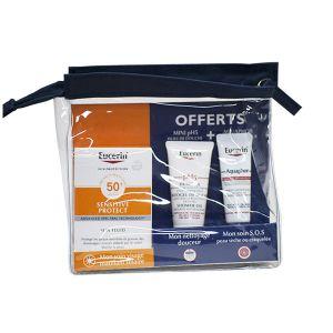 Eucerin Trousse Sun Sensitive Protect Fluide SPF 50+