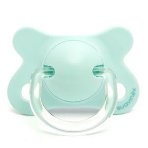 Suavinex Sucette Latex Réversible Hirondelles Vert 2-4m
