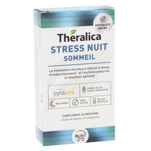 Theragreen Theralica Stress Nuit Sommeil 30 gélules