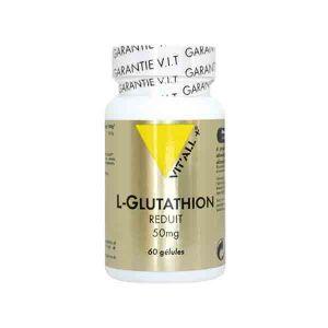 Vit'all+ L- Glutathion Réduit 50mg 60 gélules végétales