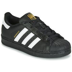Chaussures enfant adidas SUPERSTAR C Noir - Taille 28,29,30,31,32,33,34,35,31 1/2,30 1/2
