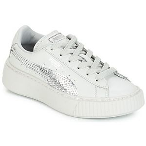 Chaussures enfant Puma G PS B PLATFORM BLING.GRAY - Couleur 28,29,30,31,32 - Taille Gris
