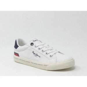 Chaussures Pepe jeans TENNIS CANVAS BLANC - Couleur 36,32,33,34,35 - Taille Blanc