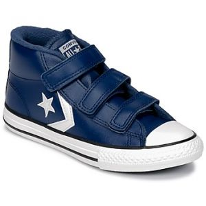 Chaussures enfant Converse STAR PLAYER 3V MID bleu - Taille 34