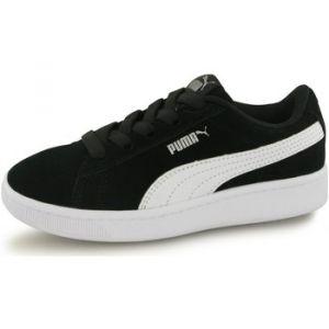 Chaussures enfant Puma Baskets Vikky V2 - Couleur 28,29,30,31,32,35 - Taille Noir