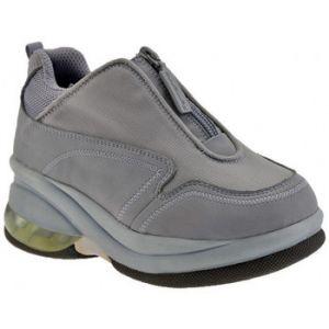 Chaussures enfant Fornarina Up Zip Talon compensé - Couleur 29,30 - Taille Gris