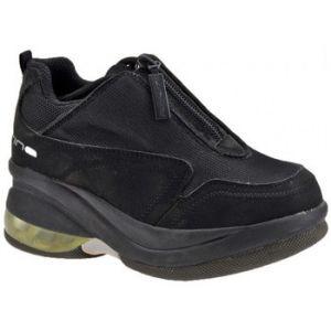 Chaussures enfant Fornarina Up Zip Talon compensé - Couleur 29 - Taille Noir