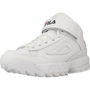 Chaussures Fila D2 DISRUPTOR MID - Couleur 38,39,40,41,42 - Taille Blanc