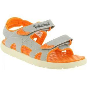 Sandales enfant Timberland A1QEQ PERKINS Gris - Taille 38,39