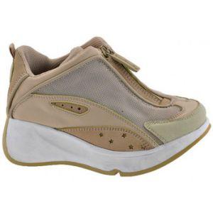 Chaussures enfant Fornarina New Zip Talon compensé - Couleur 29,30 - Taille Beige