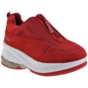 Chaussures enfant Fornarina Up Zip Talon compensé - Couleur 29 - Taille Rouge