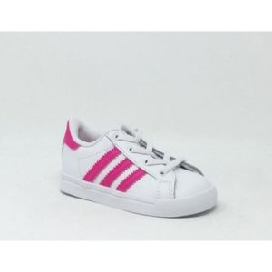 Chaussures enfant adidas COAST STAR BLANC/ROSE - Couleur 20,21,22,23,25,26,27 - Taille Rose