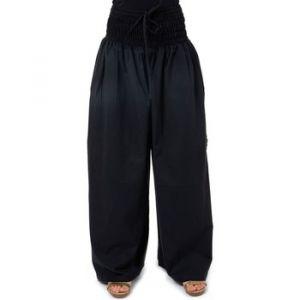 Pantalon Fantazia Pantalon large elastique bouffant femme noir Mia - Couleur Unique - Taille Noir