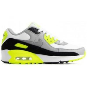 Chaussures enfant Nike AIR MAX 90 LEATHER (GS) / BLANC - Couleur 36,38,39,40,35 1/2,37 1/2,38 1/2,36 1/2 - Taille Blanc